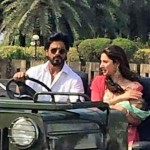 Shahrukh Khan first look picture with gorgeous Mahira Khan in Raees movie