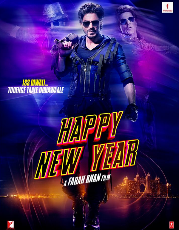 Shahrukh Khan in Happy New Year