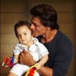 Shahrukh Khan little son AbRam First Public Picture