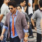 Shahrukh Khan most stylish look on the sets of The Ring movie