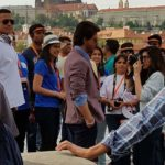 Shahrukh Khan on the sets of upcoming movie The Ring