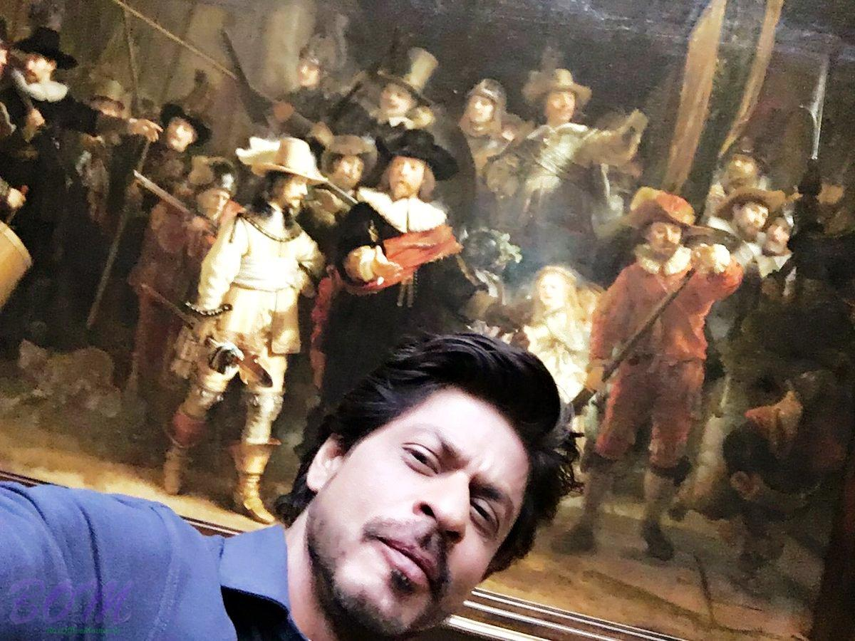 Shahrukh Khan selfie from awesome Rijks Museum