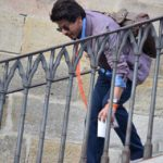 Shahrukh Khan with his stylish bag for The Ring
