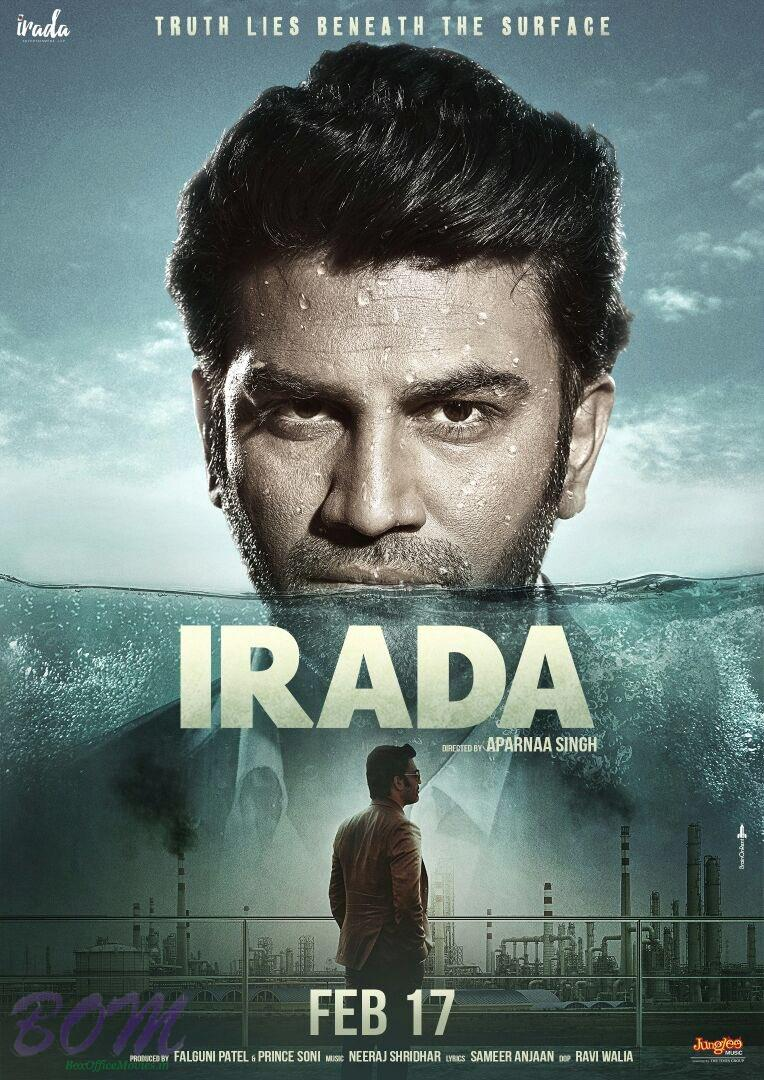 Sharad Kelkar starrer Irada movie poster
