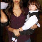 SRK daughter Suhana with brother AbRam