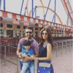 Shilpa Shetty with husband Raj Kundra and son Viaan Raj Kundra