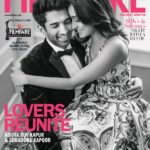 Shraddha Kapoor cover girl with Aditya Roy Kapur for Filmfare Jan 2017 issue