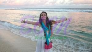 Shraddha Kapoor enjoying on the beach