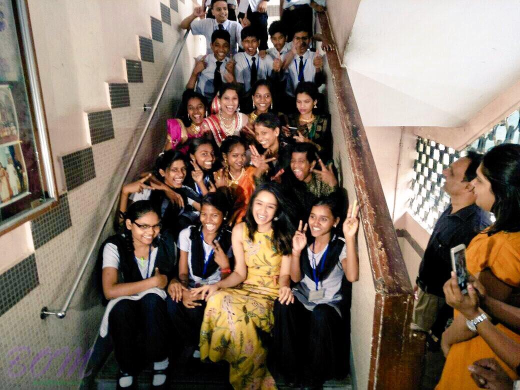 Shraddha Kapoor on Children's Day 2017