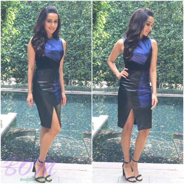 Shraddha Kapoor pics while in Delhi for Baaghi promotion