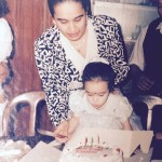 Shraddha Kapoor with her Mother