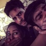 Siddharth Malhotra Khamosh style with Sonakshi Sinha and director of ITTEFAQ