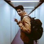 Sidharth Malhotra latest pic while enroute Wellington