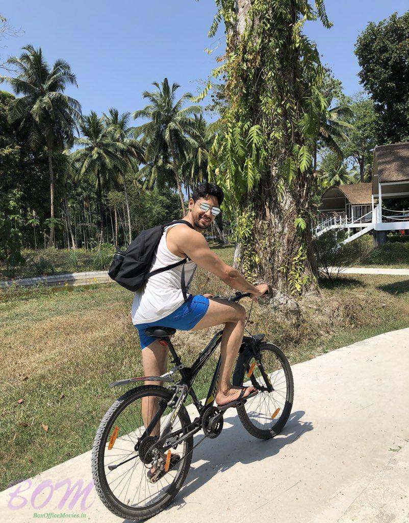 Sidharth Malhotra wildride outdoor activity with cycle