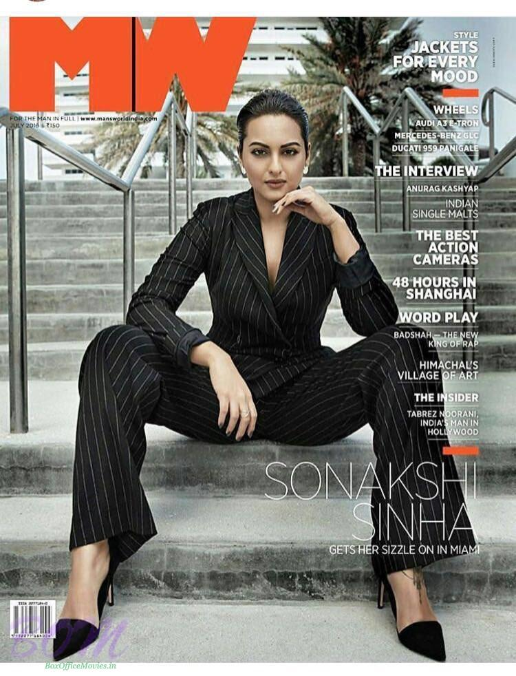 Sonakshi Sinha cover girl for MW Magazine July 2016