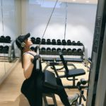 Sonakshi Sinha during a workout session