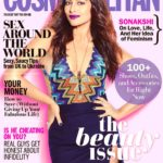 Sonakshi Sinha gorgeous cover girl for Cosmo Politan Nov 2016 issue