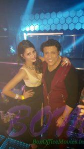 Actress Sonali Raut with Govinda