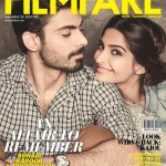 Sonam Kapoor and Fawad Khan at the cover page of Filmfare Magazine Sep Issue 14