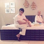 Sonu Sood candid pic with his dad
