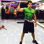 Sonu Sood during gym practice hours