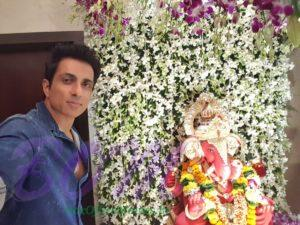 Sonu Sood on Ganesh Chaturthi 2017