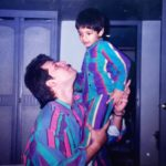 Sooraj Pancholi ‏with Father Aditya Pancholi