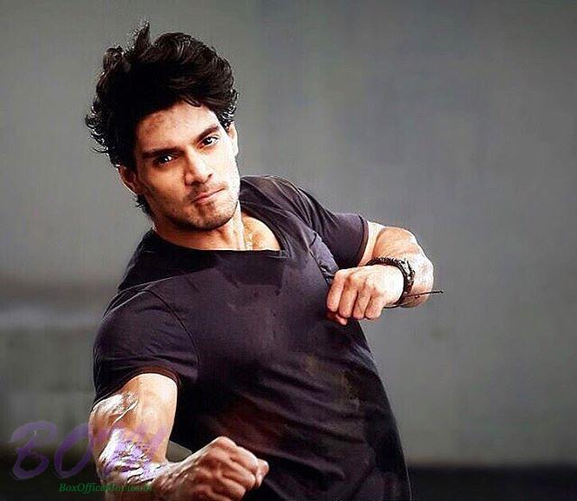 Sooraj Pancholi in action with this picture