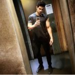 Sooraj Pancholi latest selfie showing biceps