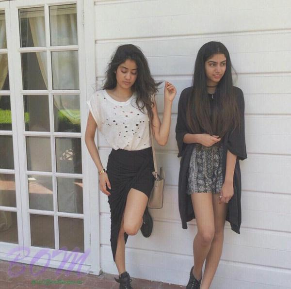 Sri Devi Boney Kapoor's daughters stunning picture