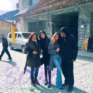 Sridevi Boney Kapoor holiday with hubby Boney Kapoor and lovely daughters