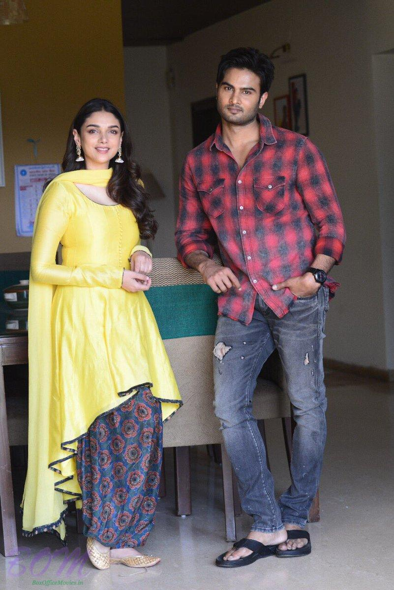 Sudheer Babu and Aditi Rao Hydari to be seen together in a movie soon