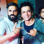 Suniel Shetty with Sunil Grover