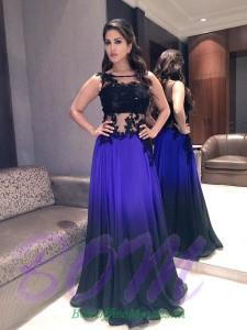 Sunny Leone in a gorgeous gown by Neha agarwal