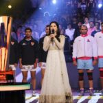 Sunny Leone picture while singing National Anthem pro Kabaddi