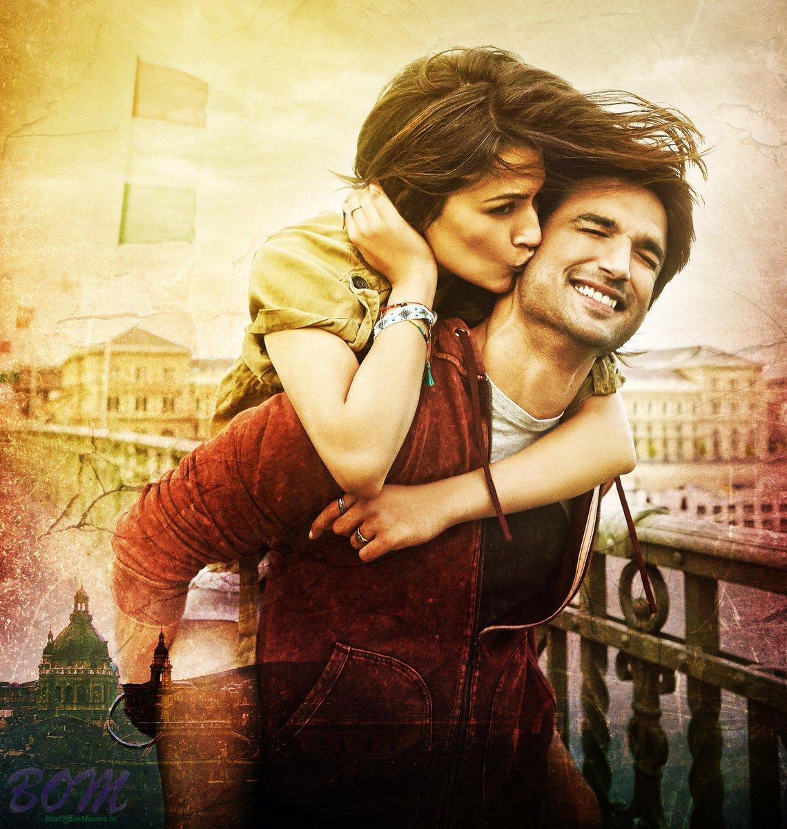 Sushant Singh Rajput and Kriti Sanon starrer First look picture of Raabta