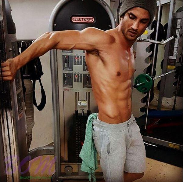 Sushant Singh Rajput during a gym session