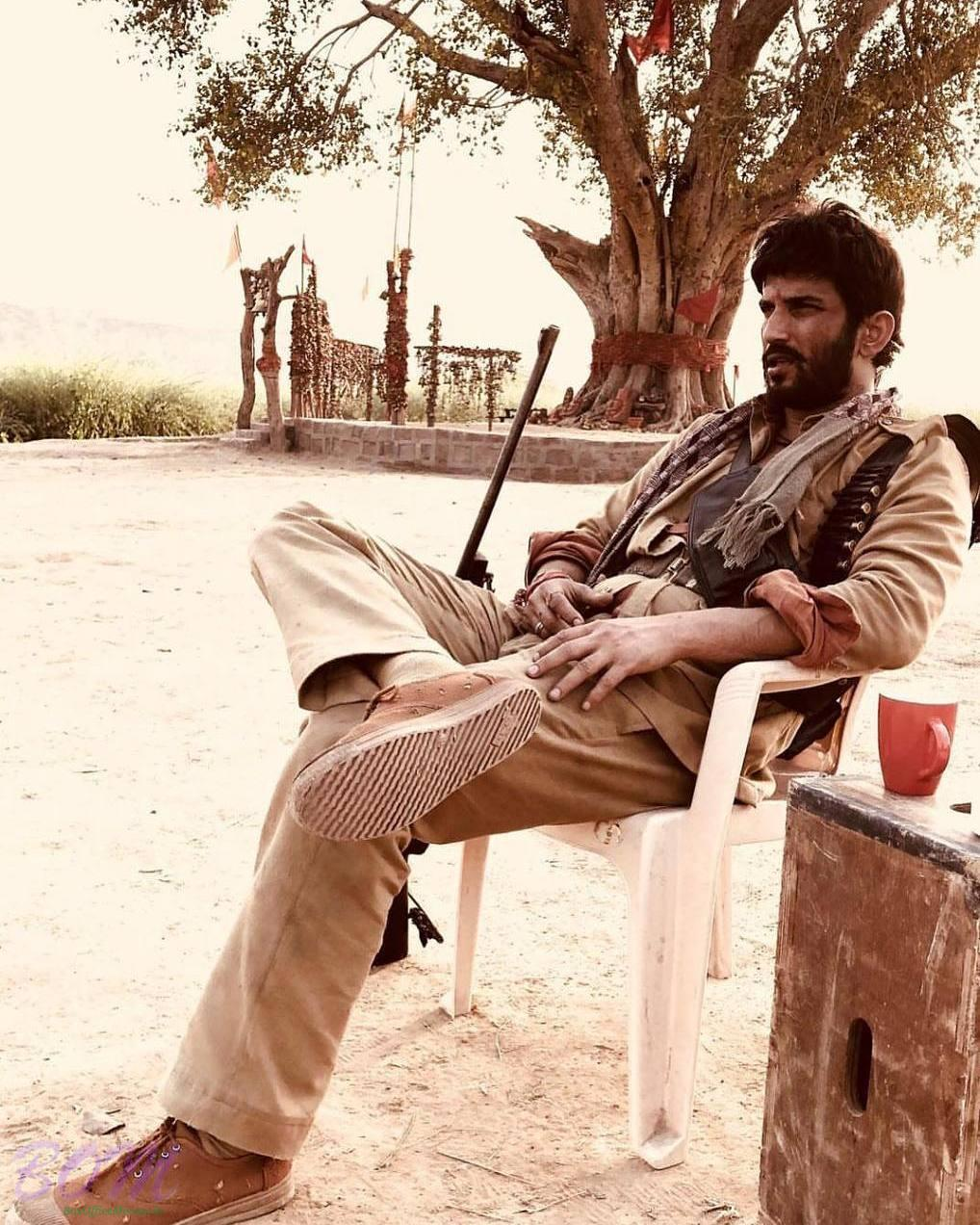 Sushant Singh Rajput first look from Sonchiriya movie