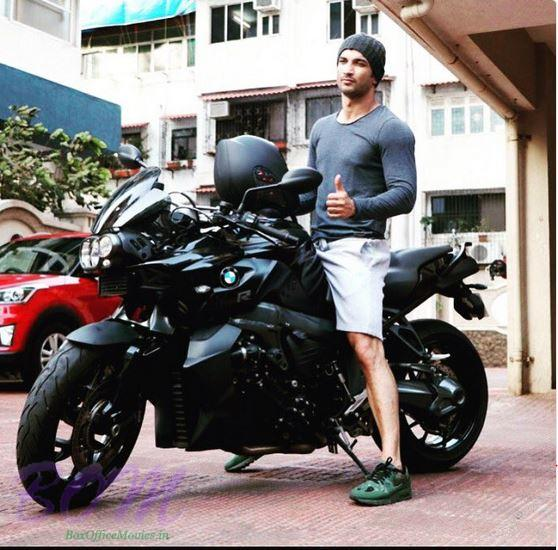 Sushant Singh Rajput and his passion for bike