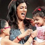 Sushmita Sen with Adopted Kids
