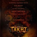 TAKHT movie leading starcasts announcement