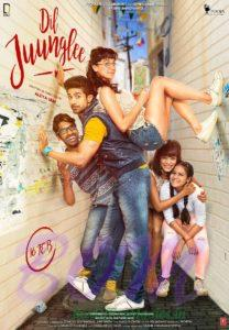 Taapsee Pannu and Saqib Saleem starrer Dil Juunglee movie poster