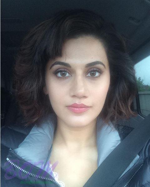 Taapseee Pannu with latest hairstyle on her Birthday 2016