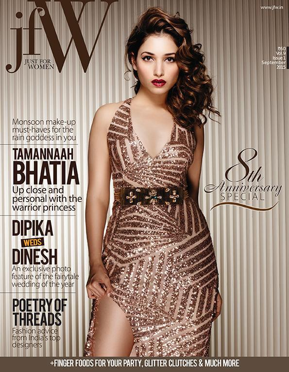 Tamannaah Bhatia look stunning in this jfW magazine cover