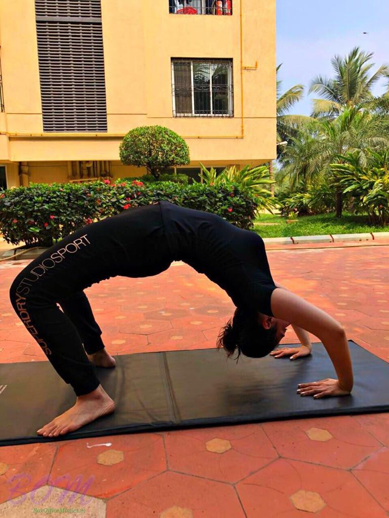 Tamannaah Bhatia love yoga for the perfect union of the mind and body