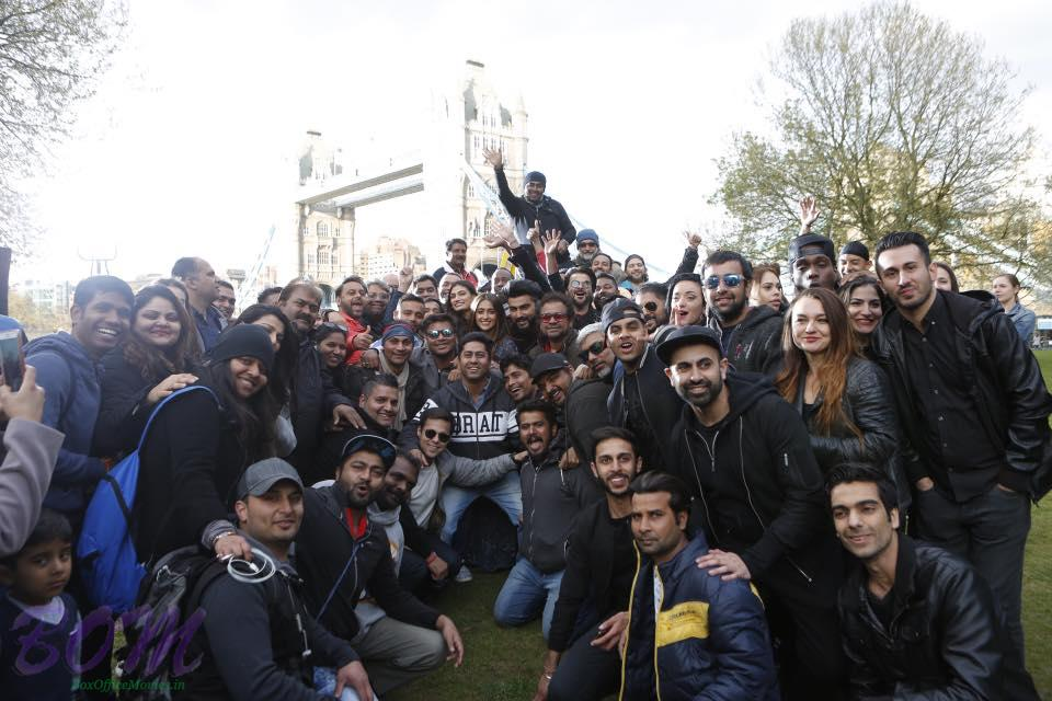 Team Mubarakan on the wrap of the shooting