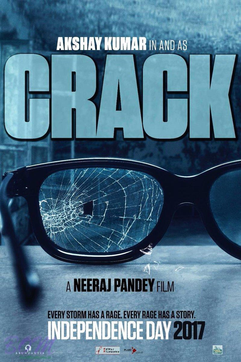 Teaser poster of CRACK starring Akshay Kumar in lead role