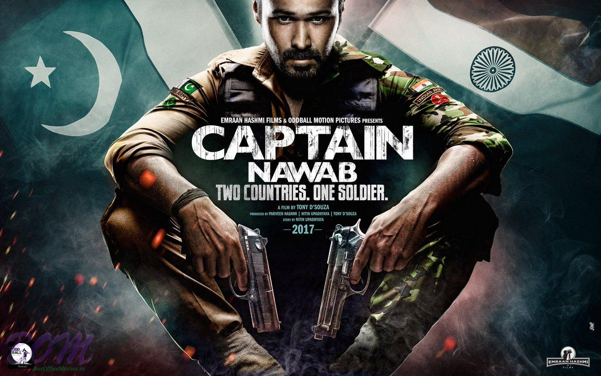 Teaser poster of Captain Nawab produced by Emraan Hashmi