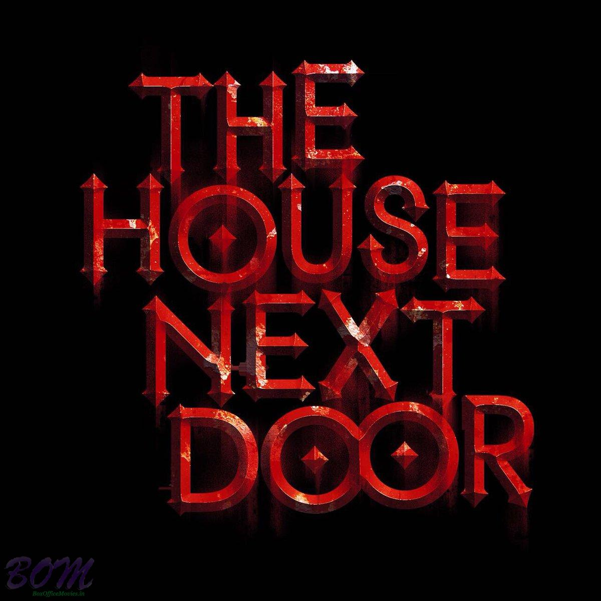 Teaser poster of The House Next Door horror flick