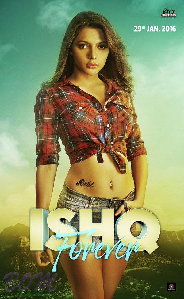 Teaser posters of Ishq Forever - Introducing Ruhi Singh